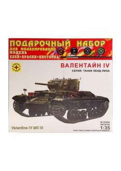 Сборная модель «Танк — Валентайн IV»